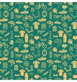 Bike seamless pattern vector