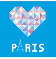 I love paris card6 vector