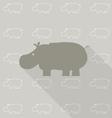 Nhippopotamus vector