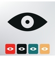 Eyes icon vector