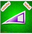 Speaker volume icon sign symbol chic colored vector