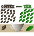 Coffe and tea vector