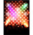 Concert crowd vector