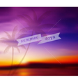Blurred tropical background vector
