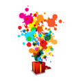 Abstract artistic anniversary celebration vector