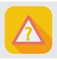 Question single icon vector