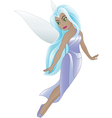 Blue fairy vector
