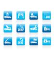 Car and automobile service icon vector