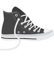 Grey sneakers vector