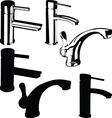 Fountain black vector