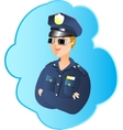 Police profession vector