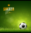 Soccer ball design vector