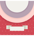 Abstract background in retro style with text field vector