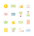 Icon banking vector