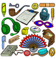 Cartoonish objects vol 5 vector