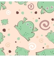 Frogs pattern vector