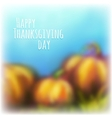 Autumn background for thanksgiving day vector