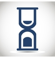 Hourglass icon vector