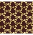 Golden abstract seamless pattern vector