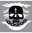 Skull cartoon vector