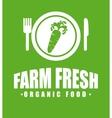 Farm fresh vector