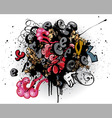 Graffiti explosion vector