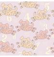 Piggy pattern vector