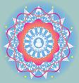 Budda ornamental print vector