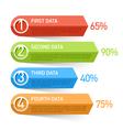 Infographics design element vector