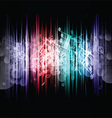 Music abstract 1107 vector