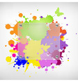 Background with glass and blots vector