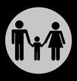 Family icon vector
