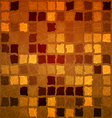 Brick tile orange with grunge vector