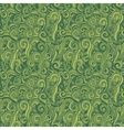 Green seamless pattern background with grass vector