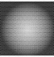 Abstract black white background with dots vector
