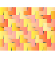Wedged squares background vector