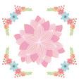 Beautiful flowers vector