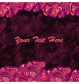 Pink purple frame background vector