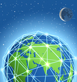 Abstract modern global communicating scheme vector
