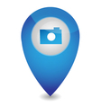 Map pointer with camera vector