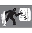 Computer theft hacker vector