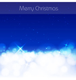 Blue christmas abstract background vector