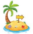 Island paradise vector