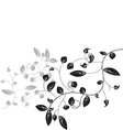 Leaf floral vector