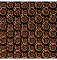 Design seamless colorful decorative spiral pattern vector