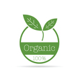 Organic icon green color vector