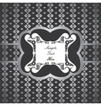 Creative classic silver design background with sti vector