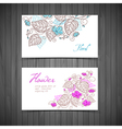 Design template cards vector