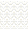 White geometric texture with hand drawn chevrons vector