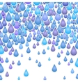 Background with drops of a rain vector